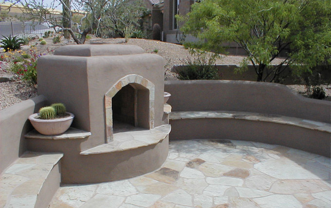 Andersen land concepts gallery fireplaces 2 3 for Fireplaces southwest